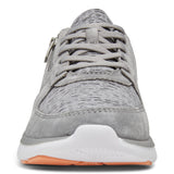 Vionic Remi Casual Sneaker in Slate Grey - Front View