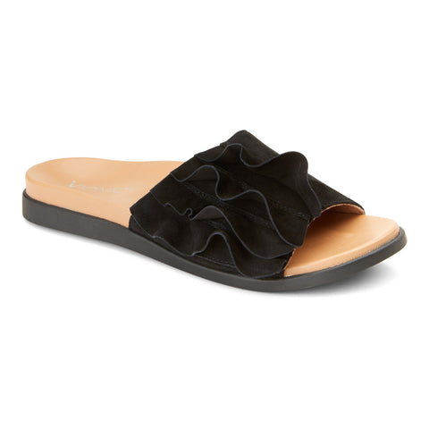 Vionic Roni Sandal in Black - Outside View