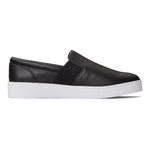 Vionic Demetra Slip On Sneaker in Black - Outside View
