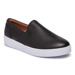 Vionic Demetra Slip On Sneaker in Black - Right 3/4 View