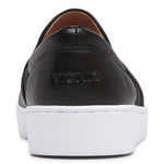 Vionic Demetra Slip On Sneaker in Black - Rear View
