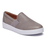 Vionic Demetra Slip On Sneaker in Charcoal - Right 3/4 View