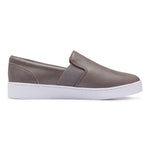 Vionic Demetra Slip On Sneaker in Charcoal - Outside View