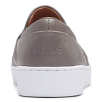 Vionic Demetra Slip On Sneaker in Charcoal - Rear View