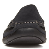 Vionic Earl Slip On in Black - Front View