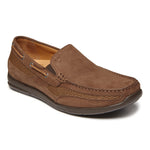 Vionic Earl Slip On in Brown - Right 3/4 view
