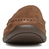 Vionic Earl Slip On in Brown - Front View