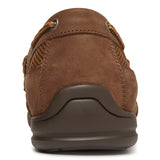 Vionic Earl Slip On in Brown - Rear View