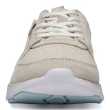 Vionic Remi Casual Sneaker in Cream - Front View