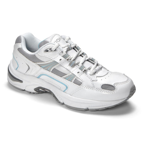 Vionic Women's Classic Walker in White / Blue