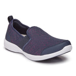 Vionic Roza in Navy - Right 3/4 View