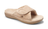 Vionic Relax Slipper in Tan - Right 3/4 View