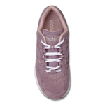 Vionic Women's Classic Walker in Mauve Suede - Top View