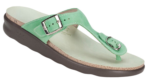 SAS Sanibel in Kiwi Leather - Right 3/4 View