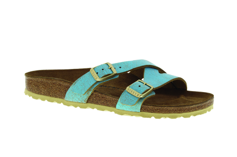 Birkenstock Yao Washed Metallic
