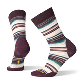 Smartwool Women's Margarita Socks in Bordeaux Heather