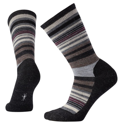 Smartwool Women's Jovian Stripe in Charcoal Heather
