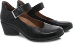 Dansko Roxanne in Black Burnished Nubuck - Pair