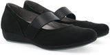 Dansko Kendra in Black Milled Nubuck - Pair