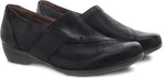 Dansko Fae in Black Burnished Nubuck - Pair