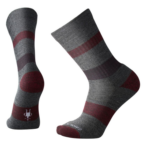 Smartwool Men's Barnsley Crew in Medium Gray Heather
