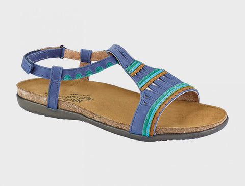 Naot Odelia in Oily Blue Nubuck / Oily Emerald Nubuck