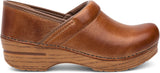 Dansko Professional in Honey Distressed - Side View