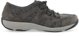 Dansko Holland in Charcoal Suede - Side View