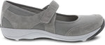 Dansko Hennie in Grey Suede - Side View