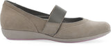 Dansko Kendra in Taupe Milled Nubuck - Side View