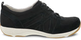 Dansko Hatty in Black Suede - Side View