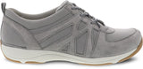 Dansko Hatty in Grey Suede - Side View