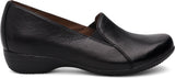 Dansko Farah in Black Leather - Side View