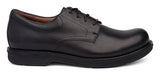 Dansko Josh in Black Antiqued Calf Leather - Side View
