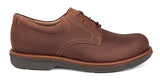 Dansko Josh in Brown Pull Up Leather - Side View