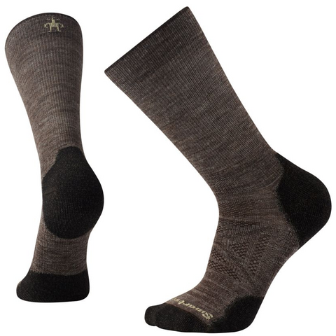 Smartwool Men's PhD Outdoor Light Crew in Taupe
