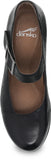 Dansko Roxanne in Black Burnished Nubuck - Top View