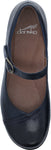 Dansko Fawna in Navy Burnished Calf - Top View