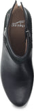 Dansko Hayley in Black Calf - Top View