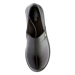 Dansko Camellia in Black Leather - Top View
