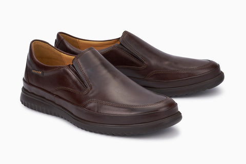 Mephisto Twain in Brown - Right 3/4 View