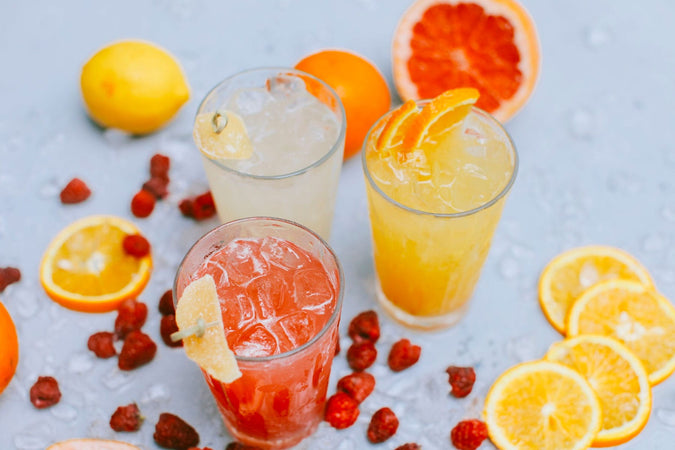 Friday Night Bites: Fuzzy Navel Cocktail