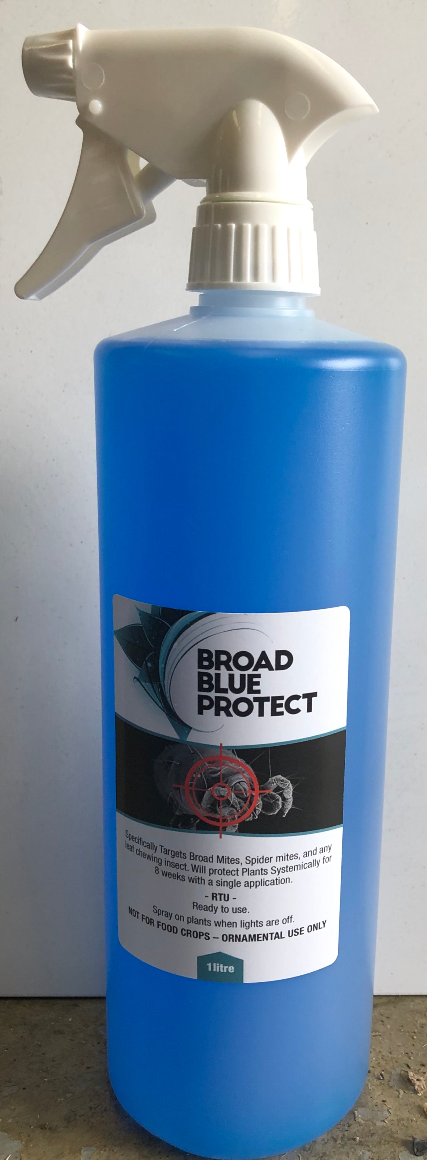 Broad Blue Protect Mite Kill 1L | Ready to Use | Hydroponic Pest Control
