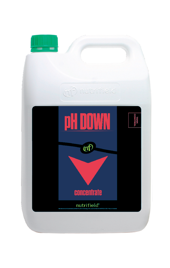 PH Down 5L correcting solution Nutrifield