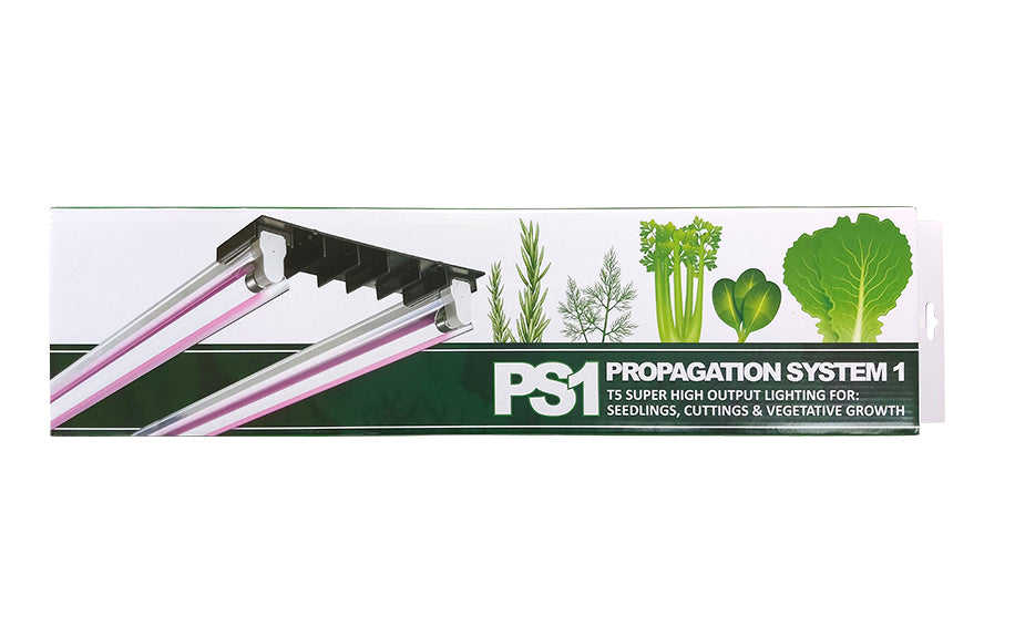 Mojocow PS1 Propagation T5 Light Kit (2 x 24W) (Purple Lamps)