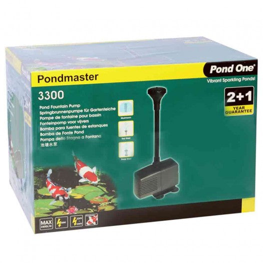 Pondmaster 3300 Water Pump 2800L/hr 2.6mH