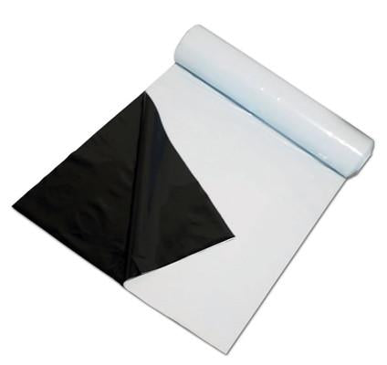 Hydrofilm 10mx3m Panda 250UM Heavy Gauge Plastic reflective film ( black and white )