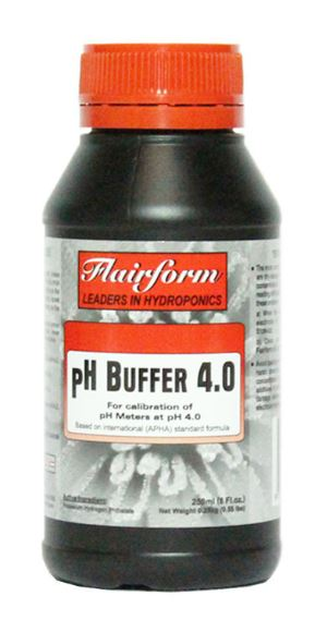 Flairform Buffer Solution pH 4.0 250ml