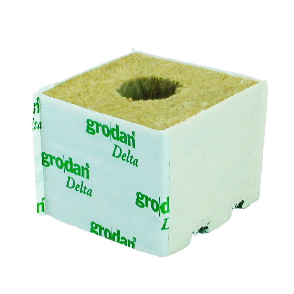 GRODAN LARGE GROW CUBE WITH HOLES 100x100MM