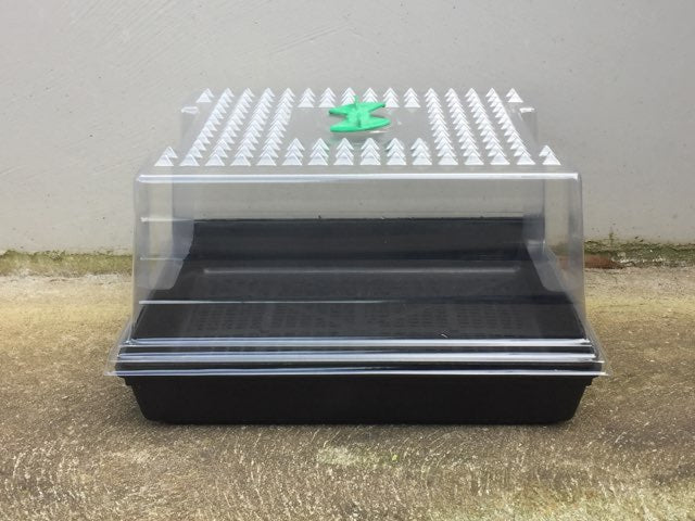 Small Propagation Kit 35(L)x30(W)x20(H)cm-drip tray | seed tray | clear plastic top with vent